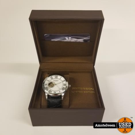 Paterson Cal3668 Heren Horloge Automaat   Nieuw in Doos