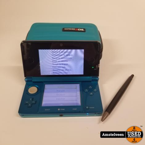 Nintendo 3DS Blue   Nette Staat