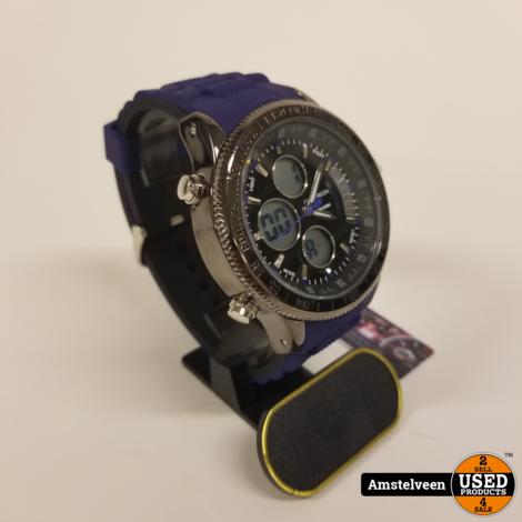 Paterson Chronograph Horloge Black | Nieuw in Doos