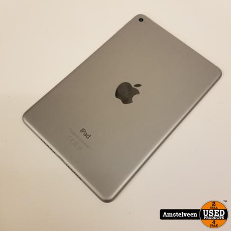 iPad Mini 4 128GB WiFI Space Gray   Nette Staat