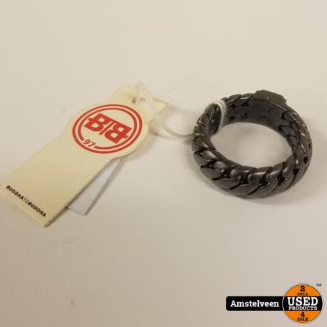 Buddha to Buddha Black Rhodium Ben Ring 19   Nieuw