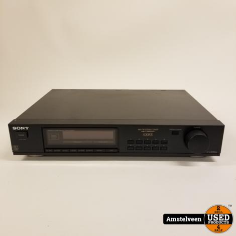 Sony ST-530ES Tuner FM/AM Black/Zwart