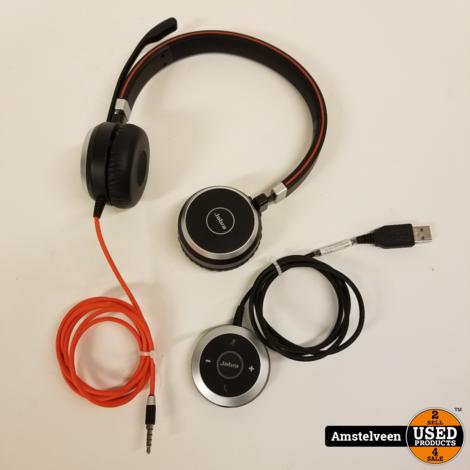 Jabra Evolve 40 UC Stereo Bedrade Office Headset   Nette Staat