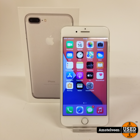 iPhone 7 Plus 256GB Silver   Nette Staat