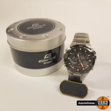 Casio Casio EQW-M1100DB-1AER Horloge 47mm Staal | in Doos
