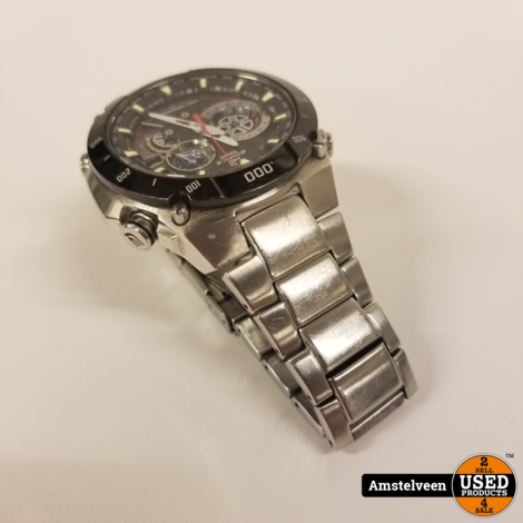 Casio EQW-M1100DB-1AER Horloge 47mm Staal | in Doos
