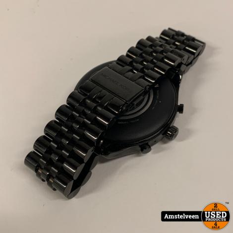 Michael Kors Gen. 5 Lexington Smartwatch Black | ZGAN in Doos