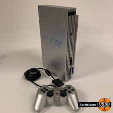 Sony Playstation 2 Silver   Nette Staat