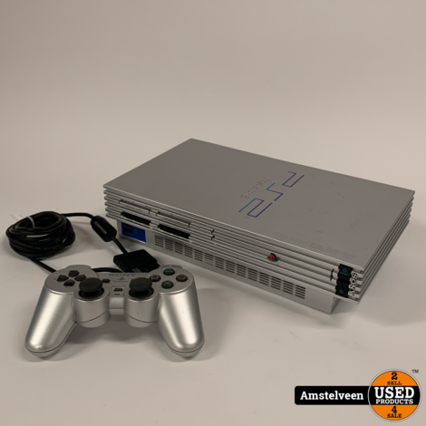 Playstation 2 Silver   Nette Staat