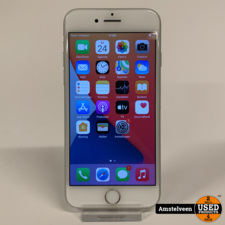 apple iPhone 8 64GB Silver   Nette Staat