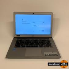Acer Acer Chromebook 14-inch CB3-431-C5K7   4GB 32GB   Nette Staat
