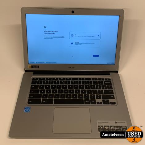 Acer Chromebook 14-inch CB3-431-C5K7   4GB 32GB   Nette Staat