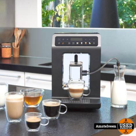 Krups Evidence One EA895N - Volautomatische espressomachine Zwart   Nieuw