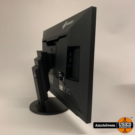 Eizo FlexScan EV2456-BK 24-inch Monitor Black | Nette Staat