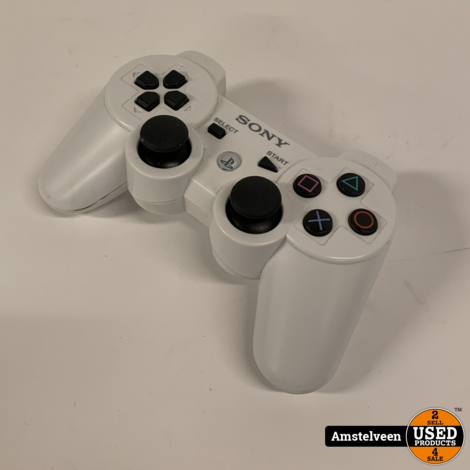 Playstation 3 Controller White   Nette Staat