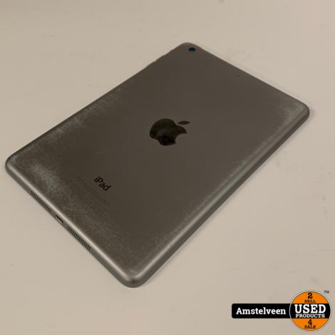 iPad Mini 2 16GB WiFi Space Gray | incl. Doos & Lader