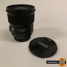 Sigma SIGMA 24MM F1.4 DG HSM ART Nikon Black | Nette Staat