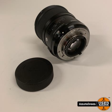 SIGMA 24MM F1.4 DG HSM ART Nikon Black | Nette Staat