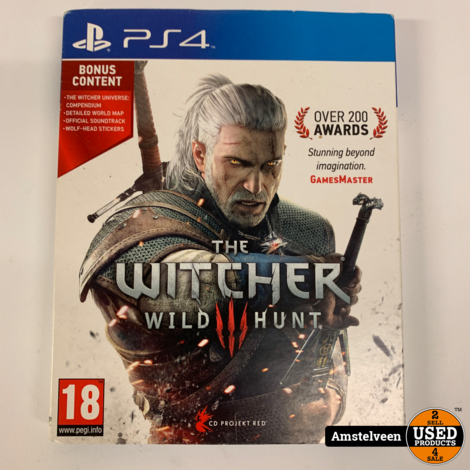 Playstation 4 Game: The Witcher 3 - Wild Hunt Game of the Year Edition