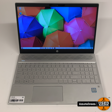 HP 15-cs0852nd 15-inch Laptop | 8GB i5 1,128GB SSD/HDD | Nette Staat