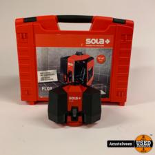 Sola Flox vloer- en kruislijnlaser | Nette Staat in Koffer