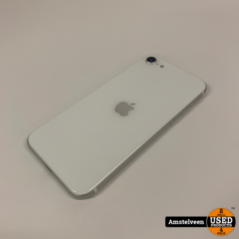 iPhone Se 2020 64GB White | Nette Staat