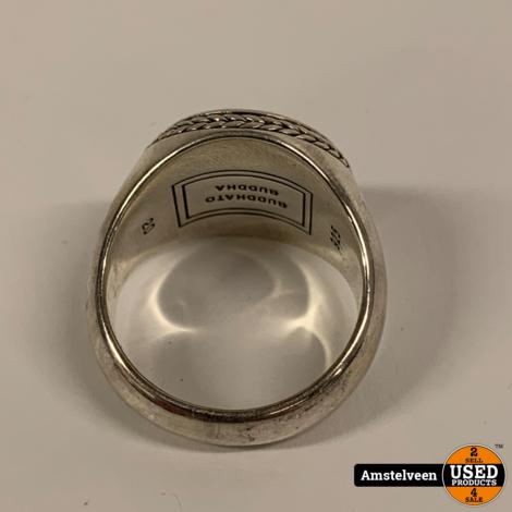 Buddha To Buddha 925 Batas Ring Size: 20 | Nette Staat