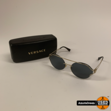 Versace 2184 1252/87 61-17-140 Zonnebril   Nette Staat
