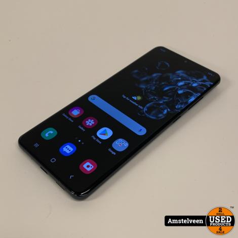Samsung Galaxy S20 Ultra 128GB Black   Nette Staat