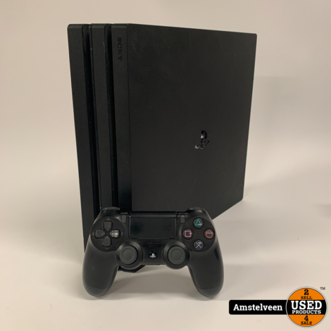 Playstation 4 Pro 1TB Black | Nette Staat