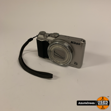 Nikon Coolpix A900 Zilver WiFi | Nette Staat