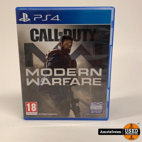 Playstation 4 Game: Call of Duty Modern Warfare
