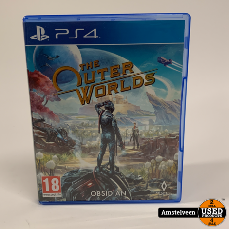 Playstation 4 Game: The Outer Worlds