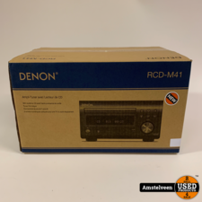 Denon Denon RCD-M41 SIL tuner met CD Zilver | Nieuw