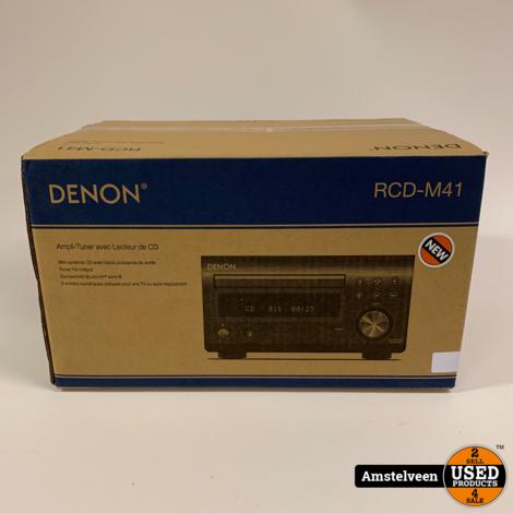 Denon RCD-M41 SIL tuner met CD Zilver | Nieuw