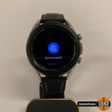Samsung Samsung Galaxy Watch 3 41mm leather Black | Nette Staat