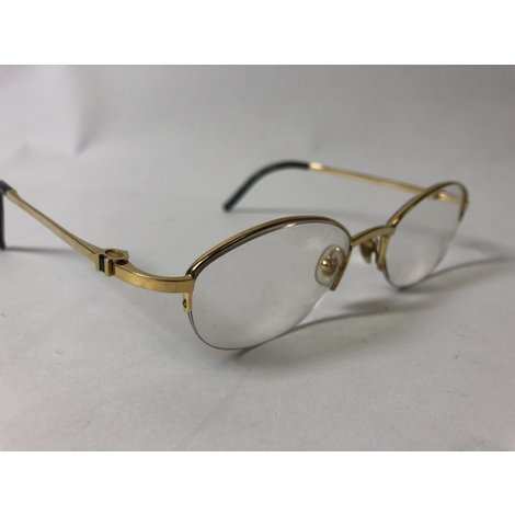Cartier Semi Rimless Mogi 17309 Goud/Gold | incl. Doos & Koker