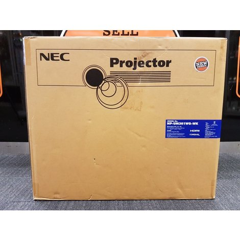 NEC NP UM351W-WK Projector/Beamer   Nieuw in Doos