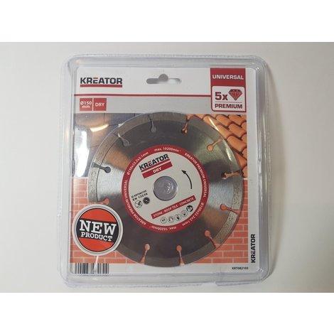 Kreator 150 mm Universal Zaagblad KRT082103 | Nieuw