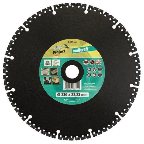 Wolfcraft Pro Multi 230x22.23MM   Nieuw!
