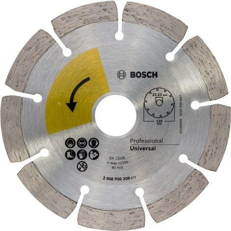Bosch Universal 2608P00208 125mm / 22,23mm Diamantschijf | Nieuw
