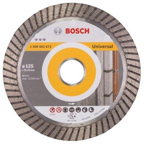 Bosch Universal 2608602672 125mm / 22,23 Dimantschijf | Nieuw
