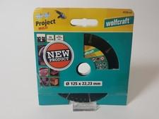 Wolfcraft 8336 125mm/ 22,23mm Diamantschijf | Nieuw
