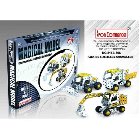 Iron Commander 816B-306 Set met 3 voertuigen | Nieuw in doos