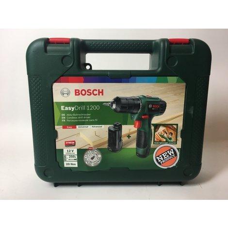 Bosch EasyDrill 1200 Accuboormachine - 12 V - Met 2 accu's | Nieuw