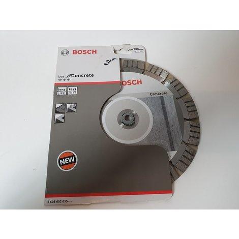 Bosch - Diamantdoorslijpschijf Best for Concrete 230 x 22,23 x 2,4 x 15 mm | Nieuw