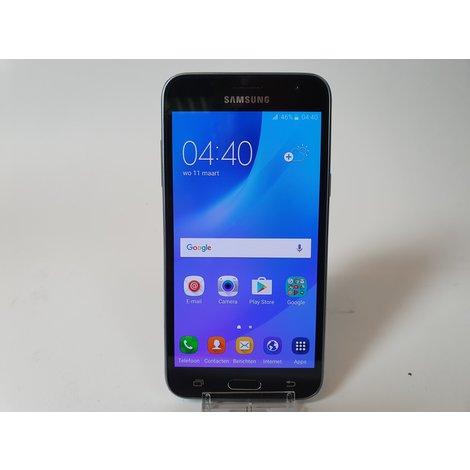 Samsung Galaxy J3 2016 Black/Zwart #1 | Nette Staat