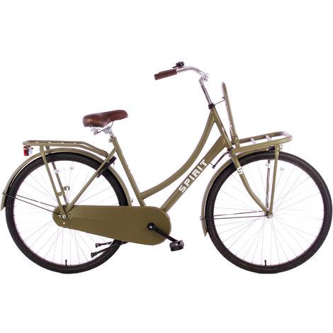 Spirit Dames Transport Fiets Mat Groen 28-inch | Nieuw