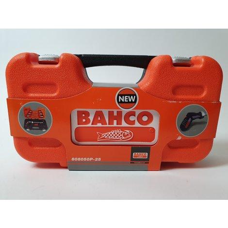 Bahco 808050P-25 25-delige Ratelschroevendraaierset - Pistoolgreep | Nieuw