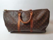 Louis Vuitton Paris Monogram Canvas Keepall 45 Duffle Bag 1992 Vintage   Excl. Doos & Factuur